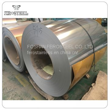 Factory supply 201 304l material Cold rolled BA 2B stainless steel coil strip