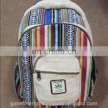 Pure Hemp Backpack HBBH 0020