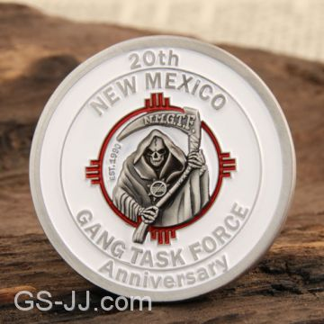 Gang Task Force Custom Coins