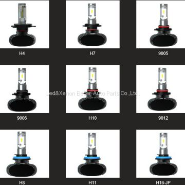 Wholesale 12V Car LED headlight bulb H4 H1 H3 H7 H9 H10 H11 H13 H15 H16 9004 9005 9006 9007 880 881