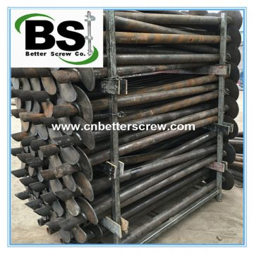 Best selling push pier/screw pile for America marketSale helical poles/helical piles/helical piers for France