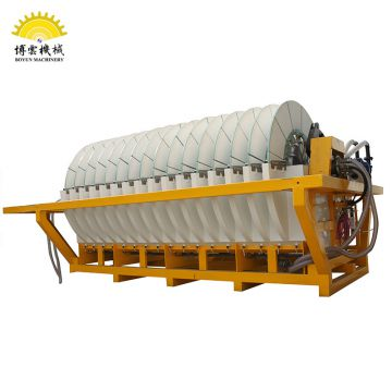 Automatic Backwash Cleaning Disc Vacuum Ceramic Filter Sewage Filtration Equipment