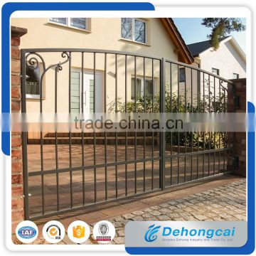 ... Aluminum House Gate Designs / Wrought Iron Gate Models / Forged Iron  Main Gate Design For ...