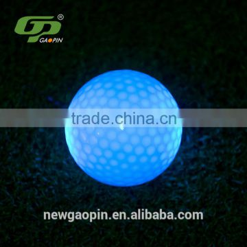 Led bouncing light rubber golf balls factory sale