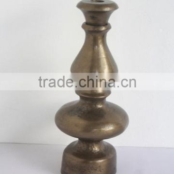 Rough Cast metal Lamp made in Aluminium in Antique brass finish
