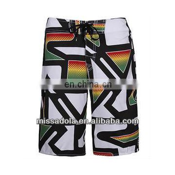 Missadola new swimwear printed trunk style men's beachshort