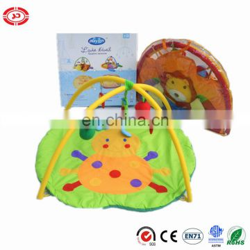 Ladybug plush cute fancy safe baby crawling play mat gift set