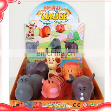 7 inch animal paradise vinyl toy soft rubber animals