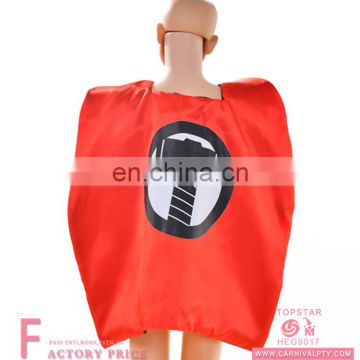 red costume elsa fancy kids super hero cape and mask children costume capes