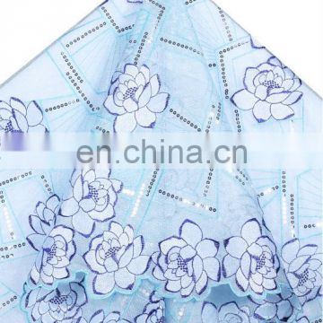 Fashionable african organza lace fabric for women