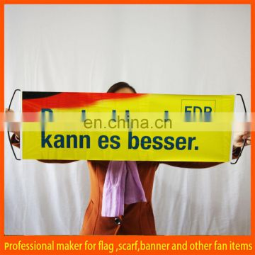 Double sides printing mini hand roll up banner