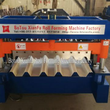 Special Thin Aluminium Roofing Tile Forming Machine
