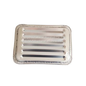 Disposable Take Away No.2 Aluminum Foil Container with Lids