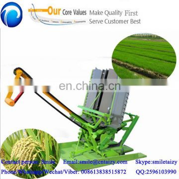 easy operated manual type rice tranplanter
