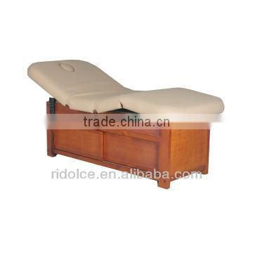 Wood base Electric Massage Beauty Bed / High End Used Electric Massage Table Double motors electric beauty salon table DS-Z09D09