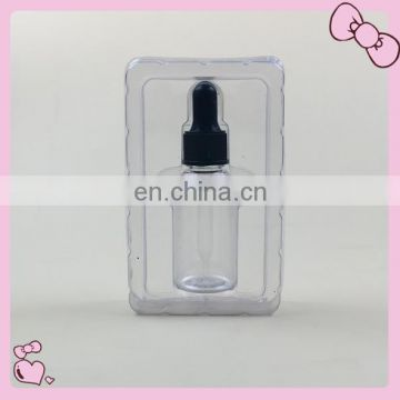 Top quality Essential Oil Use and PET Plastic Type promotion products 30ml dropper bottle