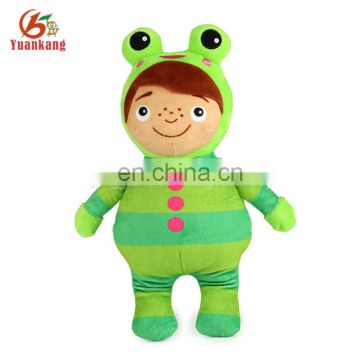 ICTI Factory Fashion Baby Gifts China Stuffed Plush Human Dolls Manufacturer Rag Doll Handmade