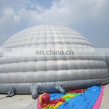 20m Diameter inflatable stitching dome tent with welding door