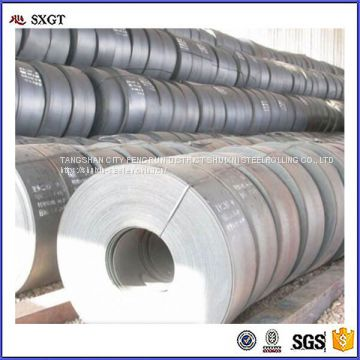 black surface hot rolled steel strip in coils
