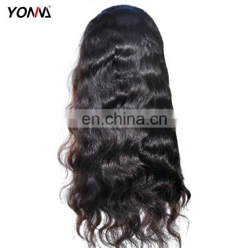 High Quality 100% Virgin Brazilian Human Hair Lace Wig, Body Wave Lace Front Wig For Wholesale