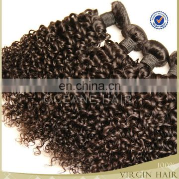 wholesale raw 100% virgin unprocessed indian remy hair deep kinky curly hair