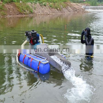 China cheap price dredge booster pump mini portable gold mining machine	used boats for sale