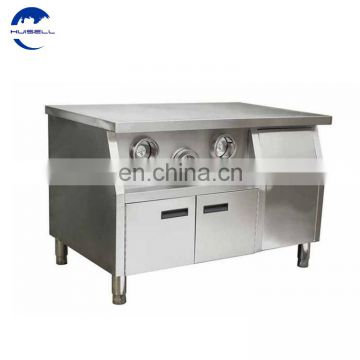 Hot sale: Beautiful design center island for kitchen equipment