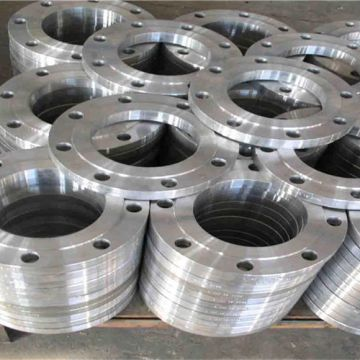 A182 F1/f5/f9/f11/f22/f91/f51/f55/f44 Machining Forging Steel Flange For Air Compressor Mechanical Parts