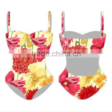 OEM factory 2016 popular hot sexy women swim wear custom women One-Piece Swimsuit plus size                                                                                                         Supplier's Choice
