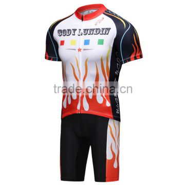 ProTeam cycling jersey men cycling suit breathable bicycle clothes set shorts and sleeve warmers