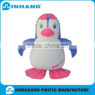 Factory price Inflatable animal ,High quality and funny PVC Inflatable Animal costume style doll clothes penguin for sale