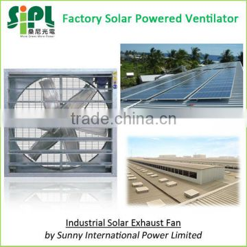New invention Negative Pressure type Industrial Ventilation use large size Solar Wall Fan