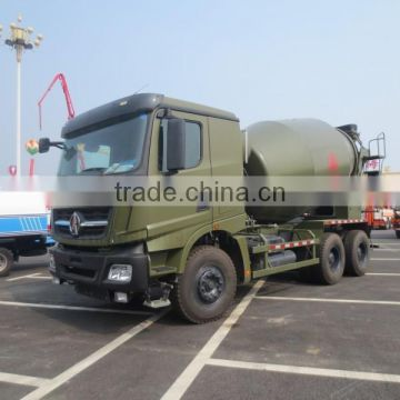 336hp 6*4 North Benz Cement Mixer Truck 10m3