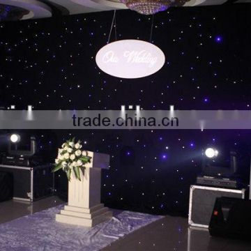 starry /soft /2*4m led curtain for stage deco