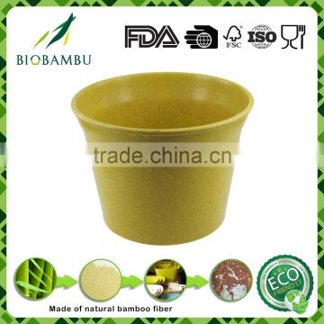 Cheap Traditional OEM available plant bamboo pot eco