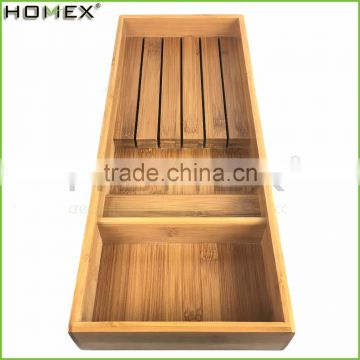 Bamboo 5 Knife Storage Holder and Knife Block Organizer/Homex_FSC/BSCI Factory