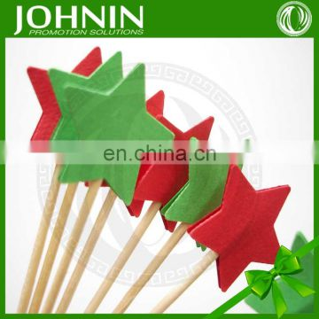special shape high quality cheap price decorative paper flag