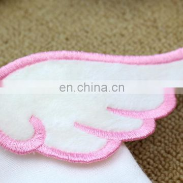 100% cotton baby muslin sweatband soft back sweatband