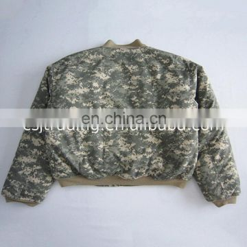 Good quality wholesale nylon bomber jackets stock jacket military flight men
