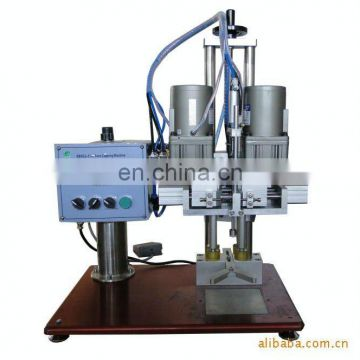 FLK CE aluminum sealing & screwing cap machine,make snap cap