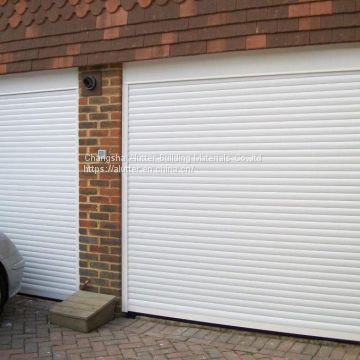 Aluminum roller shutters for garage doors