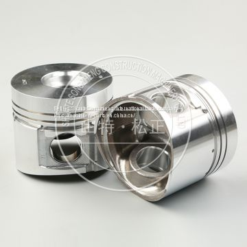 Komatsu PC300-7 excavator part piston ring piston genuine parts