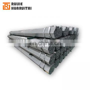 MS  round pipe weight chart galvanized pre galvanized price steel pipe
