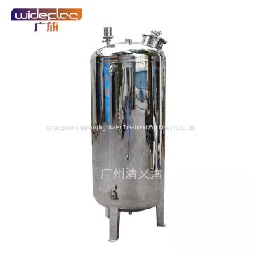 Water purification plant storage tank vertical round sterile storage tank