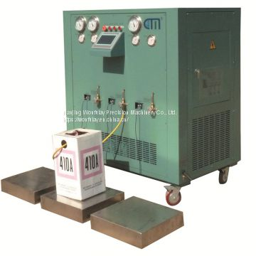 oil less multiple stage auto gas recovery machine for refrigerant ISO tank