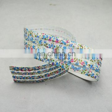 Hot drilling elastic tape for belt/shoes