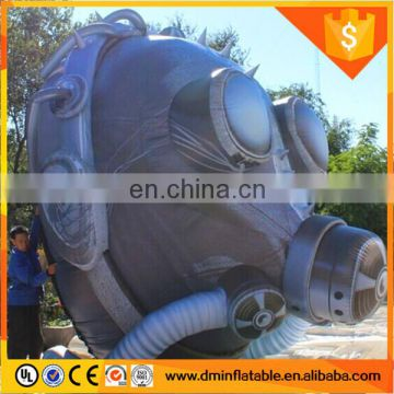 Gaint inflatable mask, gas mask for event show