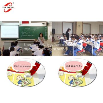 Customized Interactive Learning Toy Bluetooth Reading Pen New 2.4G Wireless Talking Pen for Classroom