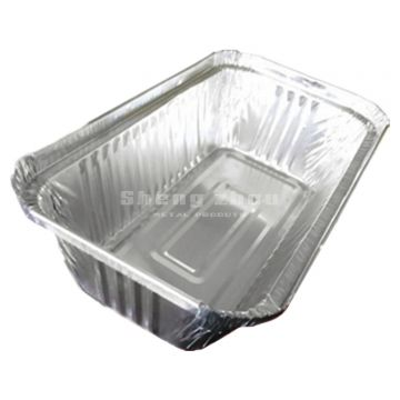 [30 Pack] Foil Pans for Chafing Racks, Aluminum Disposable Pans (1100 ML), Aluminum Pans for Freezing and Heating Food, Aluminum Tins Baking, Roasting Pans for Ovens