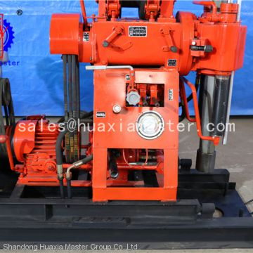 hydraulic water well digging machine 130m depth borewell drills XY-130 from HuaxiaMaster/diesel power geology exploration drill machine